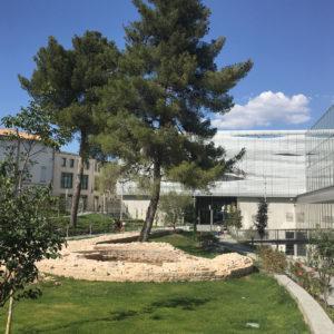 Jardin du musée de la Romanité