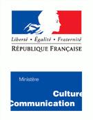 logo du ministère de la culture et de la communication