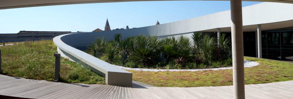rooftop du musée de la romanité