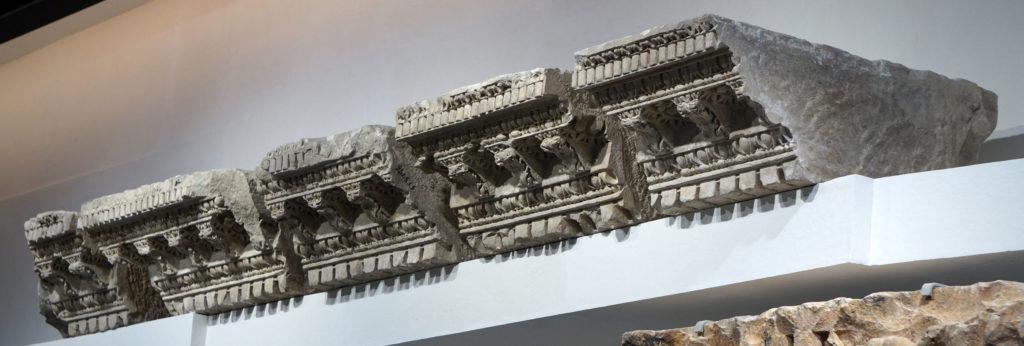 pièce époque romaine - collection permanente - Musée de la Romanité Nîmes