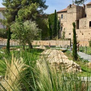jardin archéologique à Nîmes