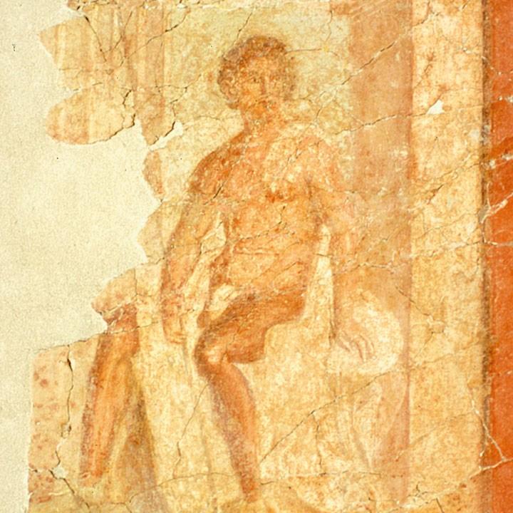 peinture murale d'un homme