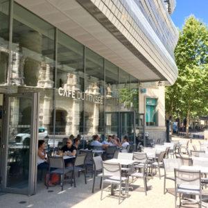 terrasse du café du musée