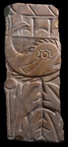 Dauphin à la comète - oeuvre romaine - Musée de la Romanité