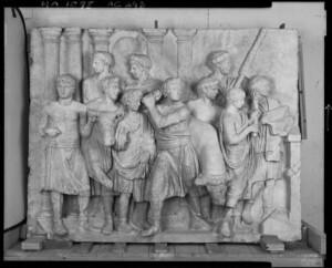 Scène de sacrifice - Musée de la Romanité