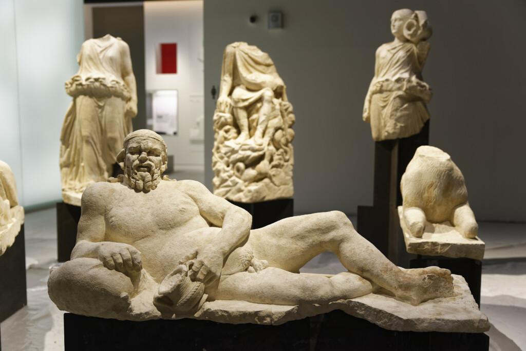 groupe statuaire beaucaire - Mythologie - Musée de la Romanité - Nîmes