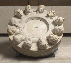 Autel des douze dieux dit autel de Gabies - Musée de la Romanité